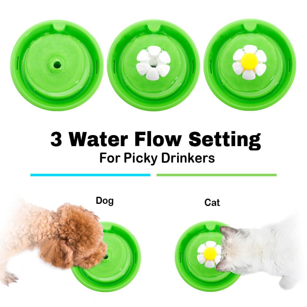 1.6L USB Electric Mute Pet Cat Dog Water Fountain
