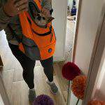 Comfortable Double Shoulder Portable Dog Cat Carrier Backpack